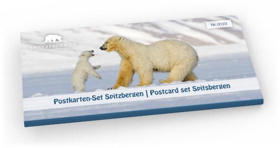 Spitzbergen-Postkarten