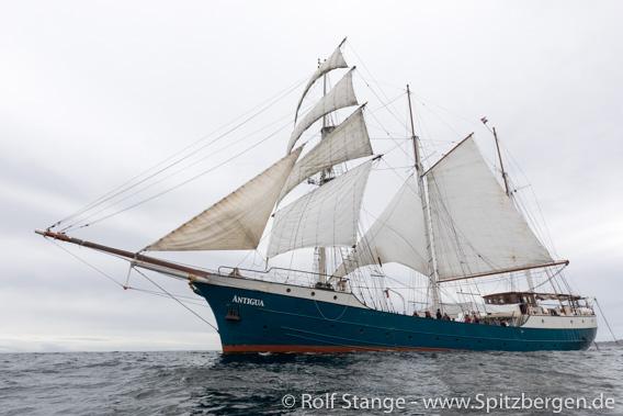 Antigua unter Segeln, Vestfjord