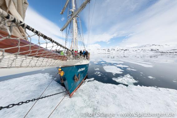 Antigua an der Eiskante, Spitzbergen