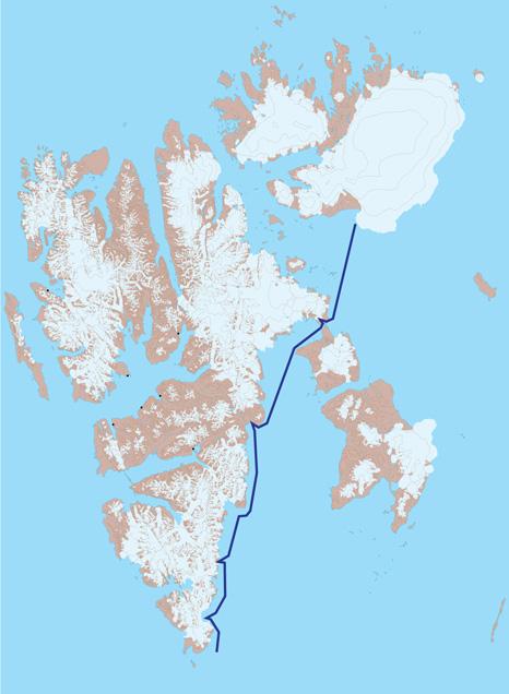 Spitzbergen Karte 4 - Storfjord