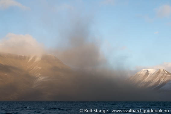Adventjord: dust storm