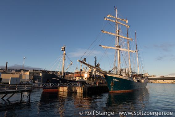 SV Antigua, MS Stockholm, Tromsø