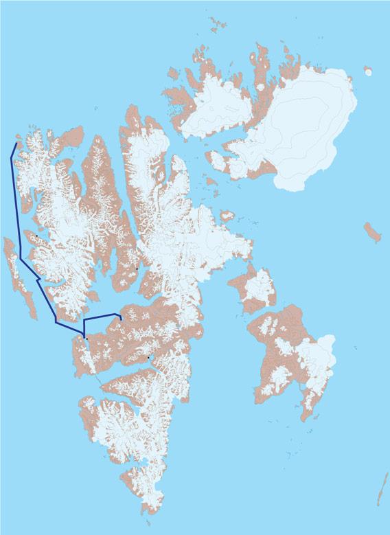 Karte 4 - Forlandsund und Isfjord