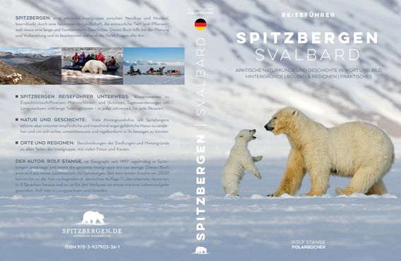 Guidebook Spitzbergen-Svalbard (German, 6. edition)