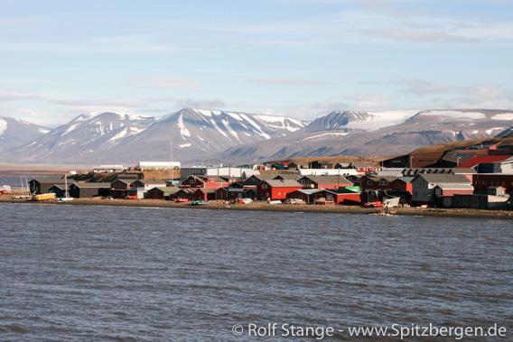 Sjøområdet, Longyearbyen