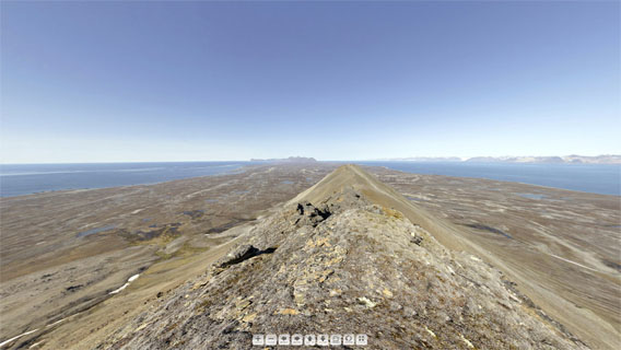 Neue Spitsbergen Panorama: Persiskammen, Prins Karls Forland - just one out of many new Spitsbergen panoramas