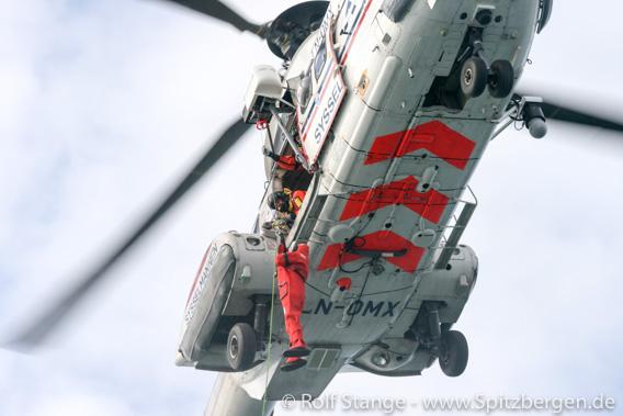 Rettungshubschrauber Sysselmannen