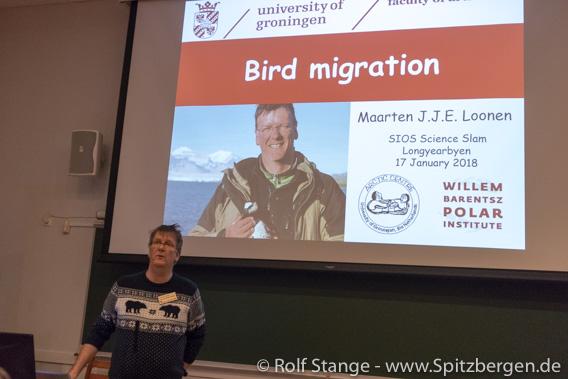 Maarten Loonen, Svalbardseminar bei UNIS