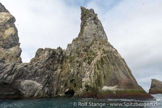 Stappen, Südspitze der Bjørnøya