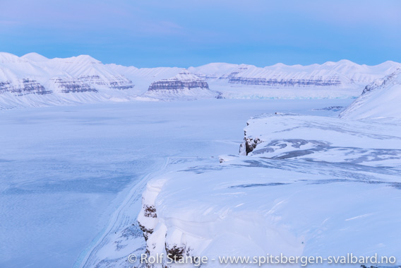 Tempelfjorden fra Fjordnibba