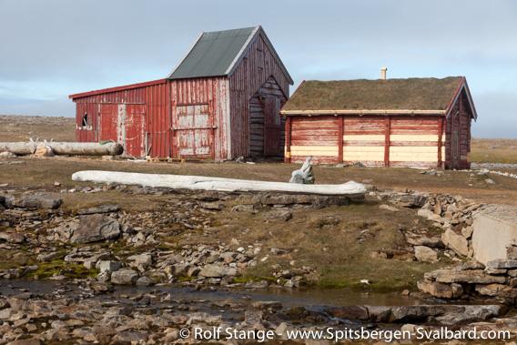Hammerfesthuset: Svalbard's oldest house, Bjørnøya (Bear Island)