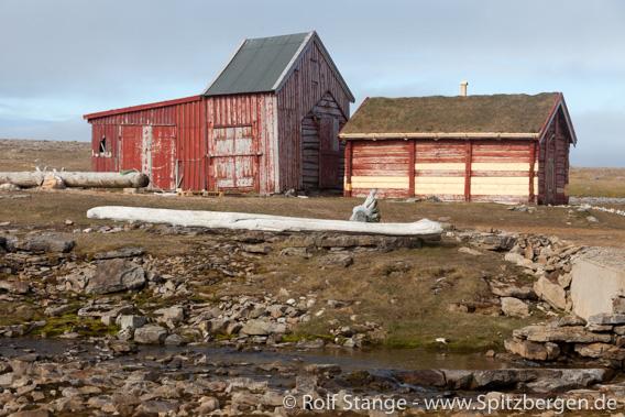 Hammerfesthuset: Svalbards ältestes Haus, Bjørnøya (Bäreninsel)