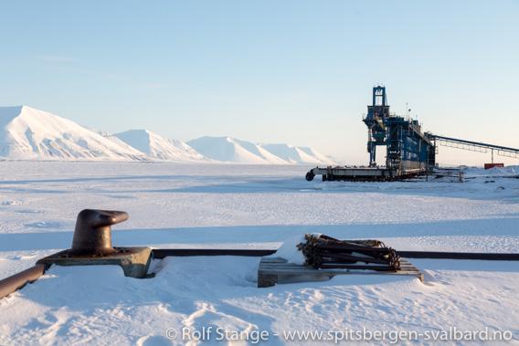 Eiskarte Van Mijenfjord, Sveagruva