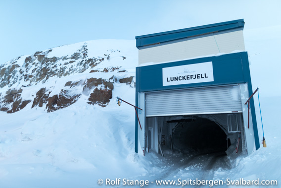 Mine entrance Lunckefjellet