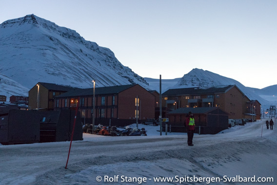 Residential buildings, Longyearbyen
