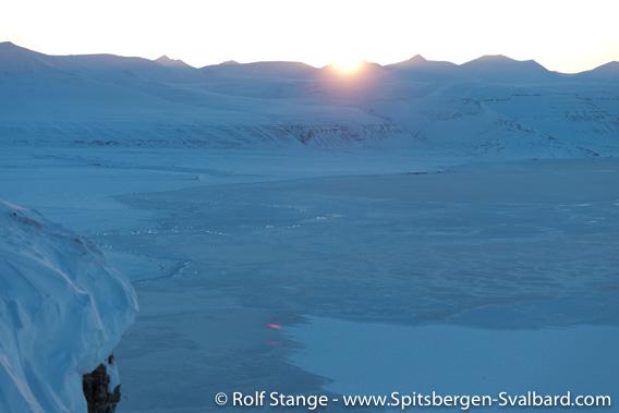 Solnedgang, Tempelfjord