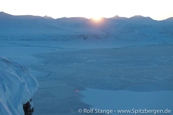 Sonnenuntergang, Tempelfjord