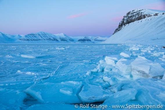 Eis am Ufer, Tempelfjord
