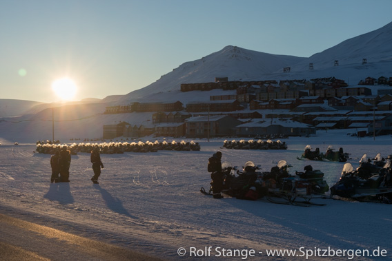 Sonne, Longyearbyen