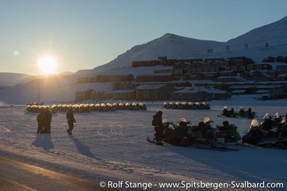 Sun, Longyearbyen