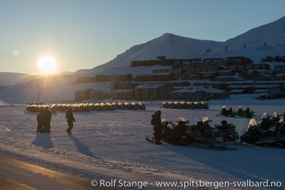 Sol, Longyearbyen
