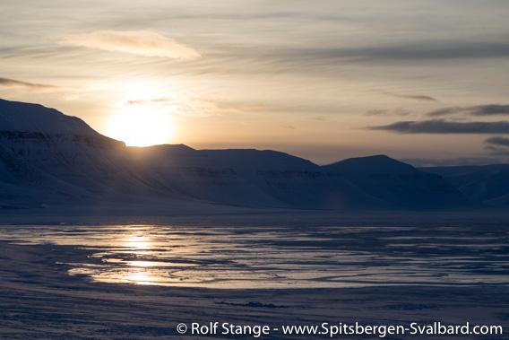 Evening light, Sassendalen