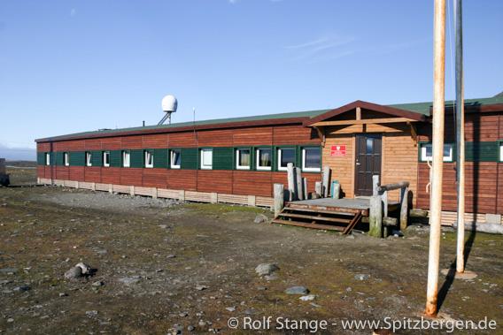 Polnische Forschungsstation in Isbjørnhamna, Hornsund