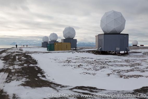 SvalSat. Platåberget ved Longyearbyen