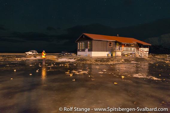 Longyearbyen Camping, ice