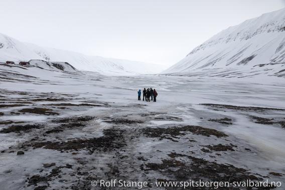 Snøsmelting i Bjørndalen