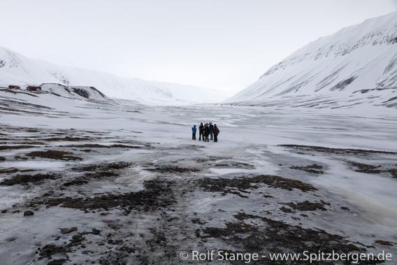 Schneeschmelze im Bjørndalen