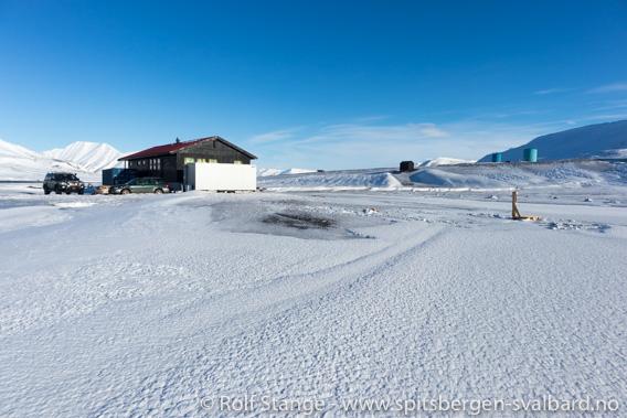 Skøytebane Longyearbyen Camping