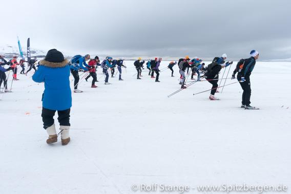 Start Svalbard Skimarathon 2019