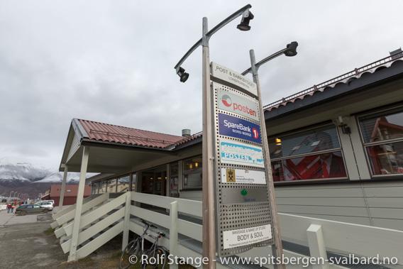 Bankran i Longyearbyen