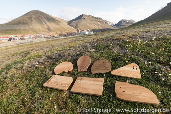 Spitzbergen-Frühstücksbrettchen