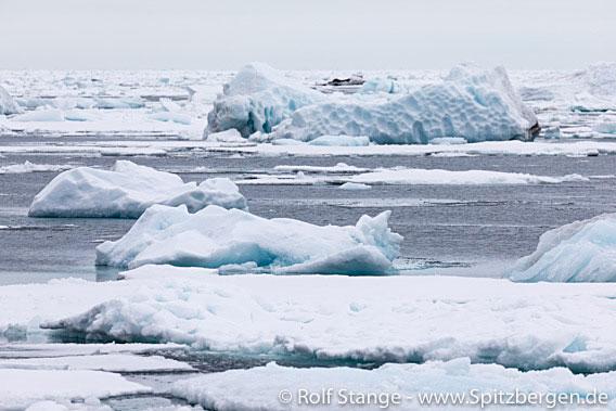 Treibeis in der Arktis