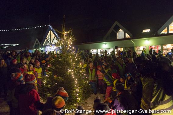Christmas tree, Longyearbyen