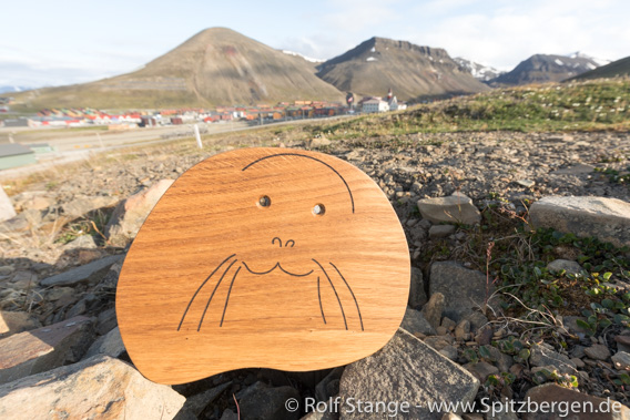 Longyearbyen Frühstücksbrettchen