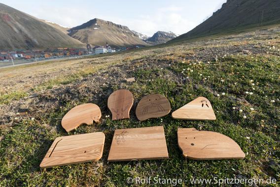 Küchenbrettchen aus Longyearbyen
