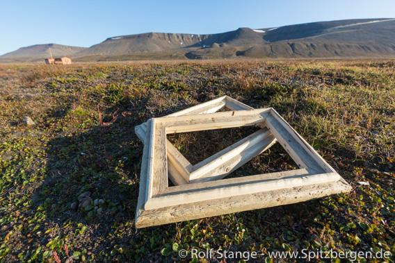 Spitzbergen-Treibholzbilderrahmen 2019