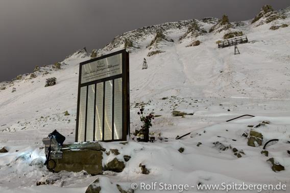 Bergarbeiter-Denkmal, Longyearbyen