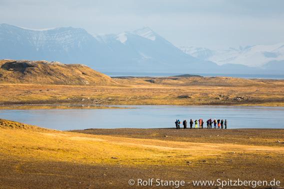 Tundraspaziergang, Spitzbergen im September