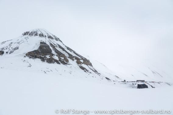 Inngang Svea Nord, Höganäsbreen