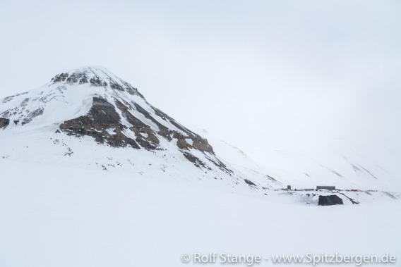 Eingang Svea Nord, Höganäsbreen