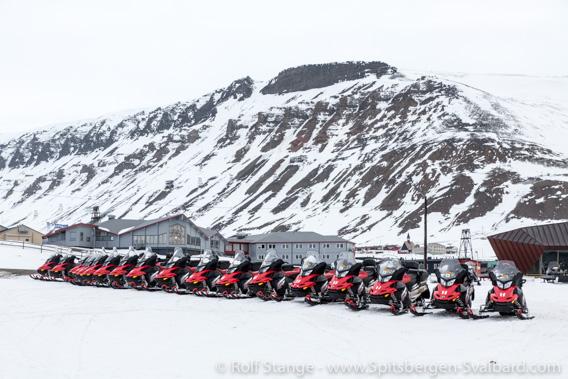 Snow mobiles Longyearbyen, Corona-virus
