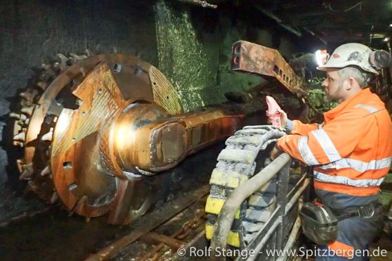 Kohlebergbau, Spitzbergen: von Corona-Krise betroffen