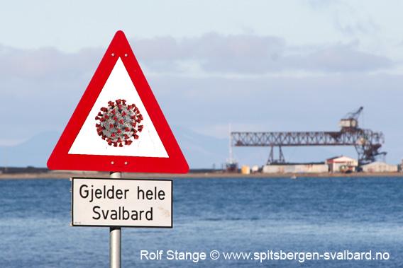 Corona-karantene, Svalbard