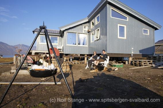 Temperature record in Longyearbyen