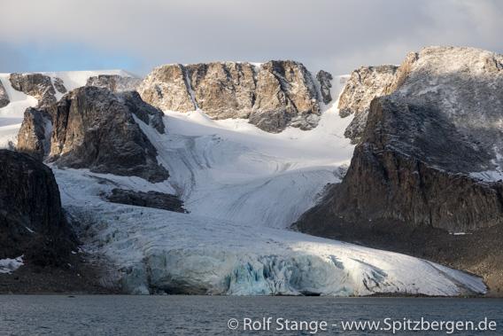 Landschaft Raudfjord Westseite
