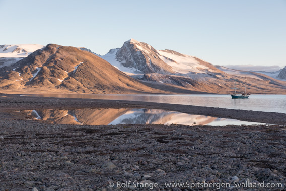 Landscape Raudfjord east side